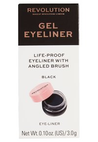Makeup Revolution - GEL EYELINER POT WITH BRUSH - Makeup set - - - 2