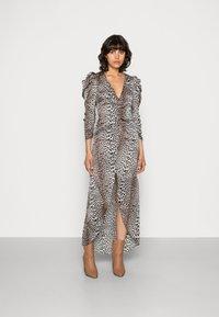 Notes du Nord - VICTORIA DRESS LEO - Maxi dress - brown/copper - 0