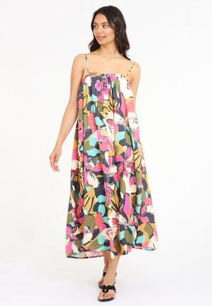 Maxi dress - bunt bedruckt