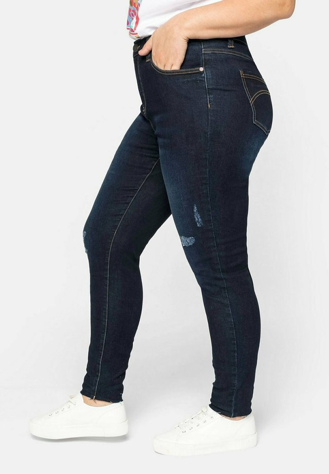 Jeans Skinny - dark blue denim