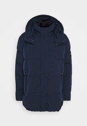 CRINKLE - Płaszcz zimowy - blue
