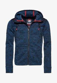 Superdry - MOUNTAIN - Zip-up hoodie - indigo navy marl - 5