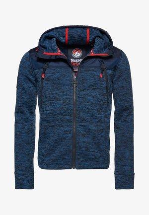 MOUNTAIN - Zip-up hoodie - indigo navy marl