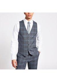 River Island - Suit waistcoat - blue - 0