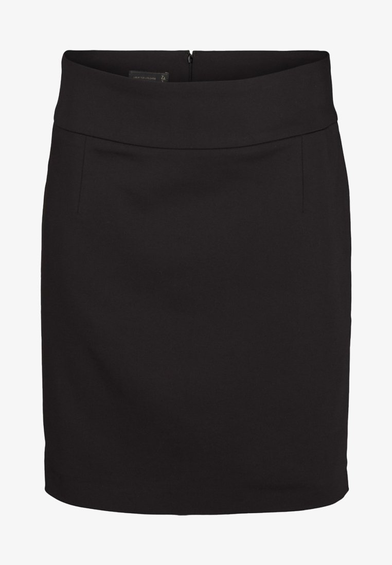 ZAY - A-line skirt - black