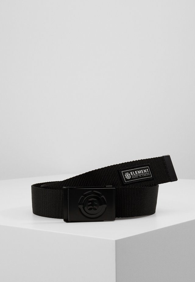 BEYOND BELT - Cinturón - black