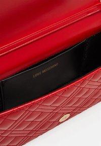 Love Moschino - BORSA - Across body bag - red - 3