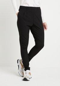 Kaffe - JILLIAN PANTS - Kalhoty - black deep - 0