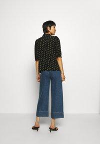 Gestuz - BELINAGZ SHIRT - Button-down blouse - black - 2
