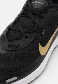 Nike Sportswear - REPOSTO - Trainers - black/metallic gold star/dark smoke grey/white - 5