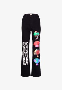 AS IF Clothing - PSYCHO PANTS UNISEX - Jeans baggy - denim - 5