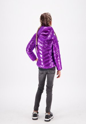 TIRZE - Winter jacket - shiny pink