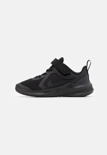 DOWNSHIFTER 10 UNISEX - Neutral running shoes - black/anthracite