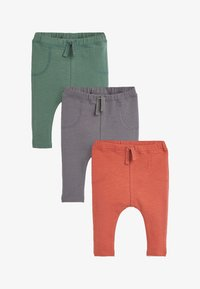 Next - 3 PACK - Tracksuit bottoms - red - 0