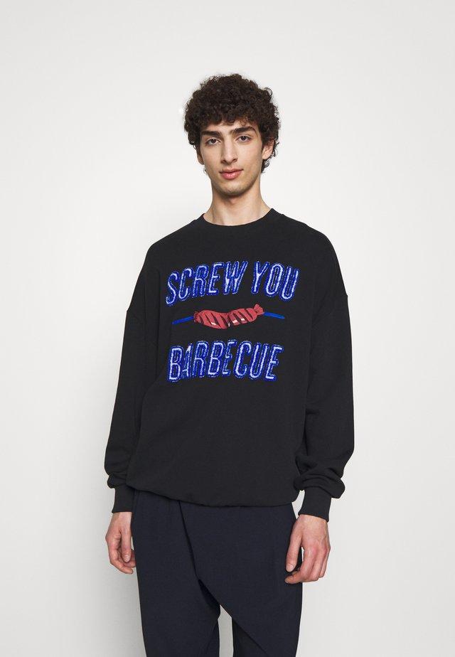 SCREW U BBQ - Sweatshirt - black
