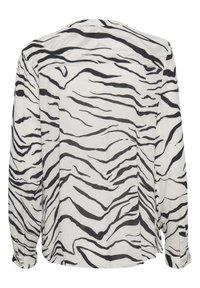 Kaffe - KAOTELIA - Blouse - black  chalk zebra print - 5