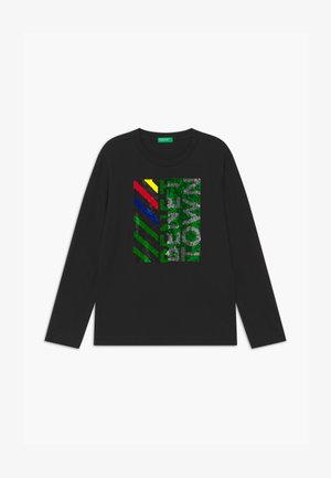 FUNZIONE BOY - Long sleeved top - black