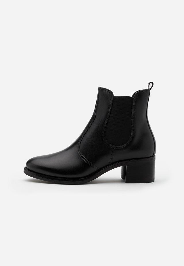 LEATHER  - Ankelstøvler - black