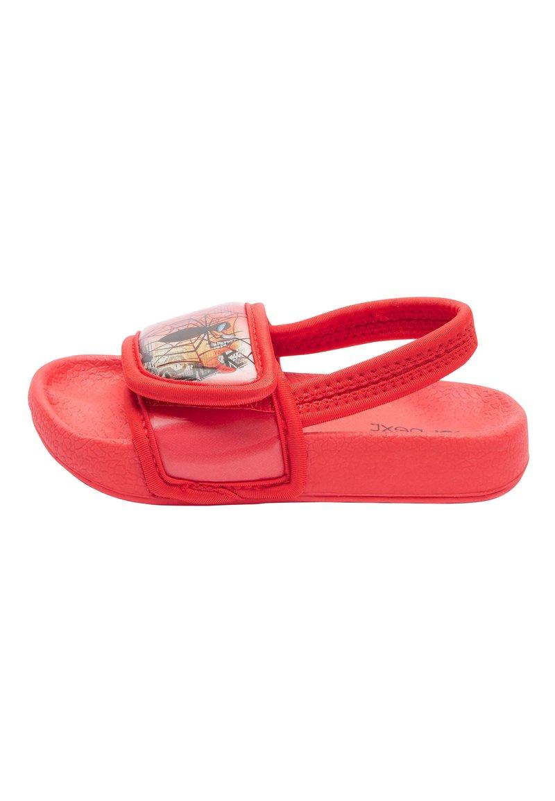 "Next - RED SPIDER-MANÂ""¢ SLIDERS (YOUNGER) - Dětské boty - red"