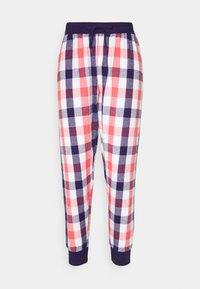 COSY CHECK CUFFED TROUSER - Pyjama bottoms - multi coloured