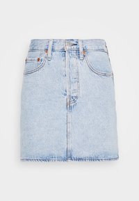 Levi's® - RIBCAGE SKIRT - Denim skirt - light blue denim - 5