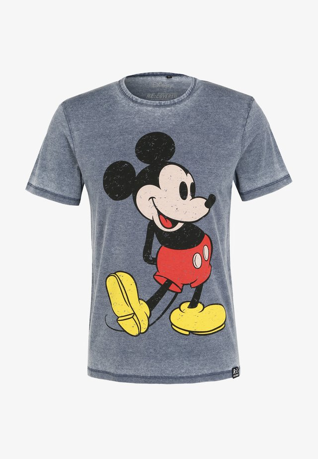 DISNEY MICKEY MOUSE CLASSIC POSE - T-shirt con stampa - blau