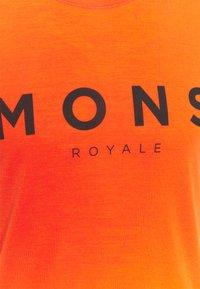 Mons Royale - ICON - Triko spotiskem - orange smash - 2