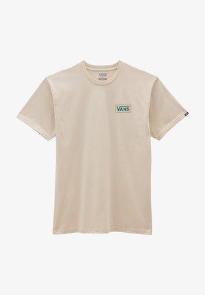 MN WINTER BLOOM SS - T-shirt med print - oatmeal