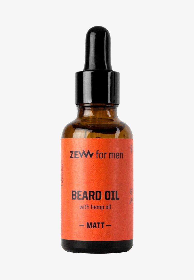 Zew for Men - MATT BEARD OIL WITH HEMP OIL - Beard oil - -