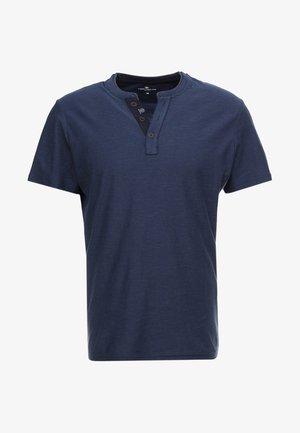 BASIC HENLEY - Basic T-shirt - dark blue