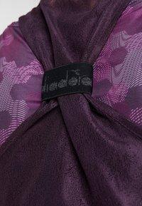Diadora - TANK FIT - Funkční triko - plum perfect/boysenberry - 5