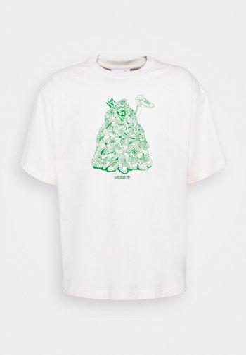 STAN UNITE TEE UNISEX - T-shirt con stampa - off-white