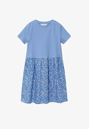 Korte jurk - bleu ciel