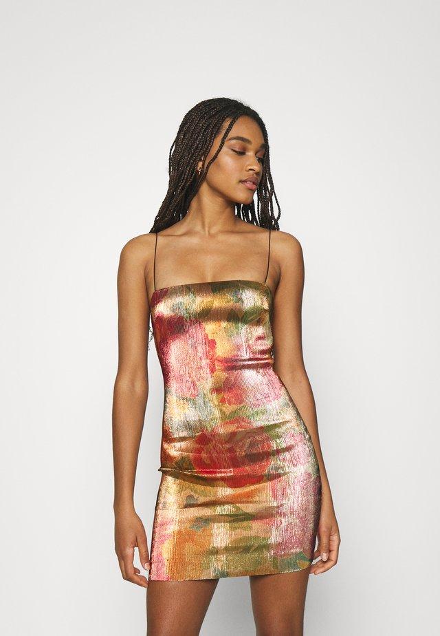 BELLA MINI DRESS - Sukienka z dżerseju - multicoloured