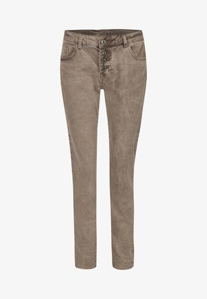 ALEXIS  - Relaxed fit jeans - braun