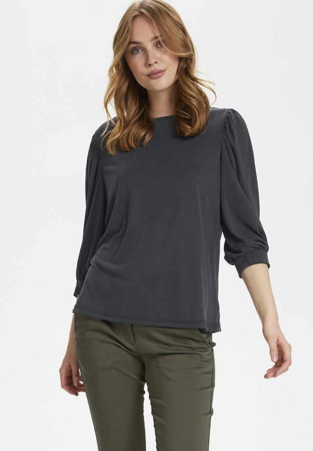 CLIASZ  - Maglietta a manica lunga - black