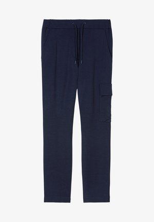 Cargo trousers - scandinavian blue