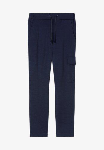 Cargo trousers - scandinavian blue