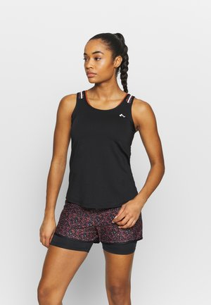ONPDAMMAN TRAINING - Top - black/mesa rosa