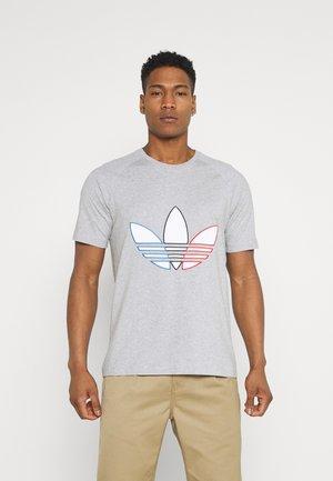 TRICOL TEE UNISEX - Print T-shirt - medium grey heather