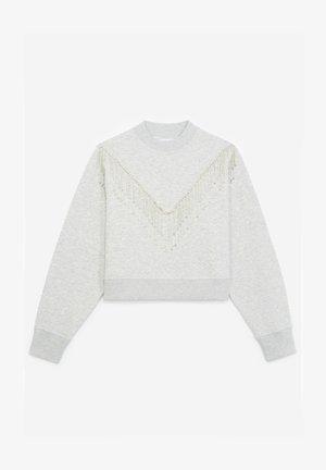 Sweatshirt - grey chine