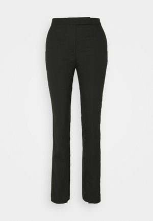 TROUSER - Pantalones - black dark