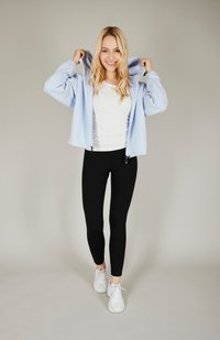 one more story - BASIC  - Zip-up hoodie - arctic ice color - 1
