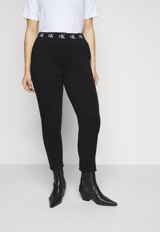 LOGO TRIM PANT - Leggings - beh