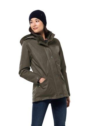 PARK AVENUE - Fleece jacket - grape leaf