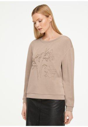 Sweatshirt - mushroom placed print