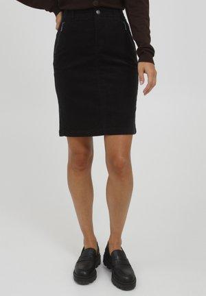 FRCACORD - Pouzdrová sukně - black