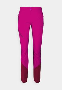 TRANSALPER LIGHT - Trousers - flamingo
