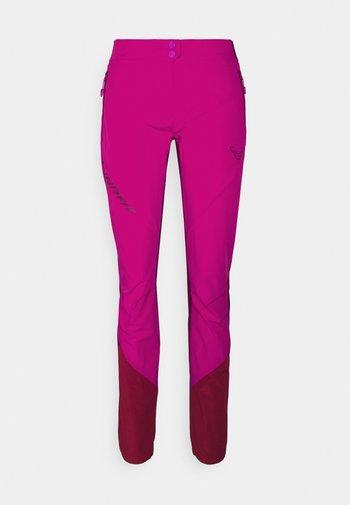 TRANSALPER LIGHT - Pantaloni - flamingo