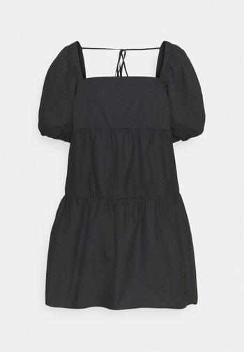 SMOCK DRESS - Robe d'été - black